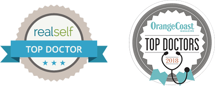 RealSelf Top Doctor, Voted Top Doctors by Orange Coast Magazine