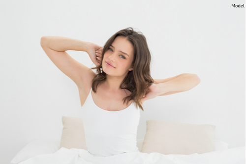 Stretching can be beneficial for pain management after breast augmentation.