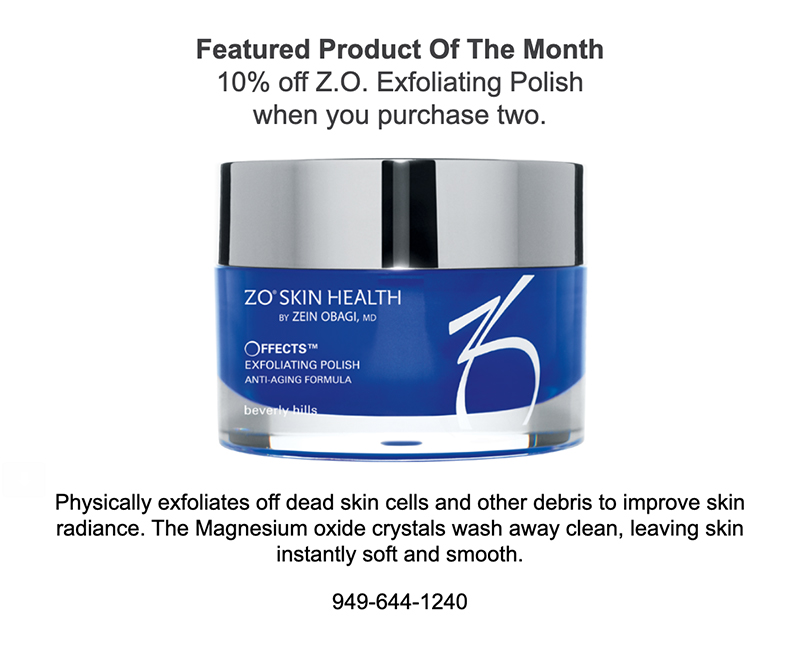 10 off Z.O. Exfoliation Polish when you purchase two.